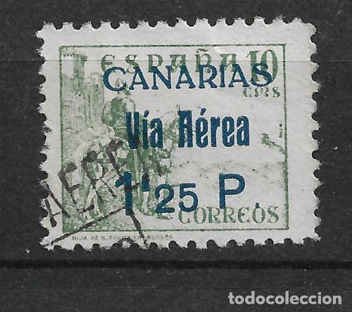 1936 - 1939 SPAIN LOCAL CIVIL WAR - CANARIAS - 4/5 (Sellos - España - Guerra Civil - Locales - Usados)