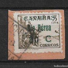Sellos: 1936 - 1939 SPAIN LOCAL CIVIL WAR - CANARIAS - 4/5. Lote 147755370