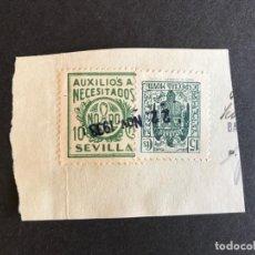 Sellos: AUXILIO NECESITADOS SEVILLA. Lote 147850266