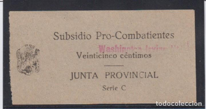GRANADA. EDIFIL 202 * SUBSIDIO PRO COMBATIENTES (Sellos - España - Guerra Civil - De 1.936 a 1.939 - Nuevos)