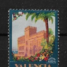Sellos: ESPAÑA VIÑETA VALENCIANA FOMENTO DEL TURISMO. Lote 148066102