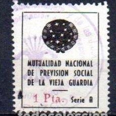 Sellos: ESPAÑA. GUERRA CIVIL. GUIPUZCOA. VIEJA GUARDIA. Lote 148149394