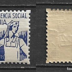 Sellos: ESPAÑA - GUERRA CIVIL - LOCALES - DENIA ** MNH - 2/49. Lote 148483418