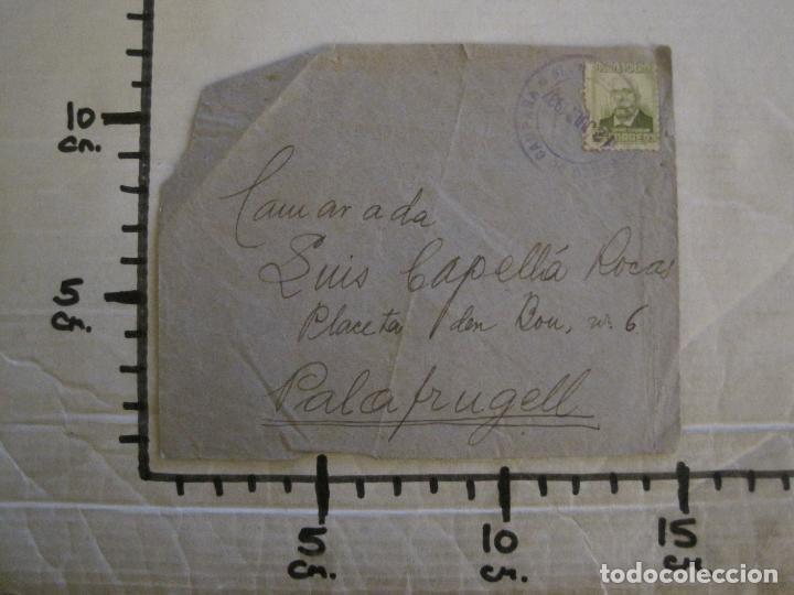 Sellos: SOBRE CIRCULADO- CARTA CENSURADA-CORREO DE CAMPAÑA-GUERRA CIVIL-VER FOTOS-(V-15.873) - Foto 6 - 148831206