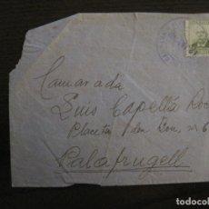 Sellos: SOBRE CIRCULADO- CARTA CENSURADA-CORREO DE CAMPAÑA-GUERRA CIVIL-VER FOTOS-(V-15.873). Lote 148831206