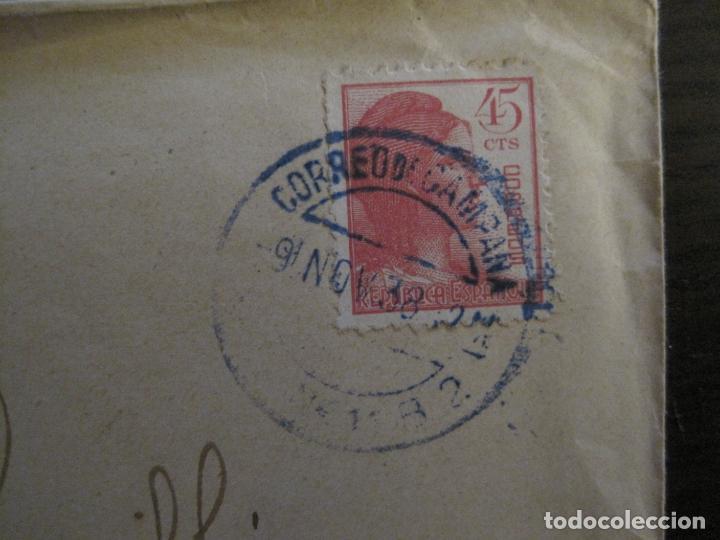 Sellos: SOBRE CIRCULADO-CENSURA DE GUERRA-CORREO DE CAMPAÑA-GUERRA CIVIL-VER FOTOS-(V-15.875) - Foto 2 - 148831882