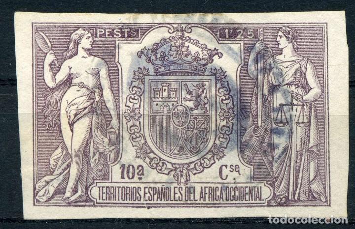 ESPAÑA. FISCALES DE ÁFRICA ESPAÑOLA. CATÁLOGO GÁLVEZ DE 1923 Nº55 (Sellos - España - Guerra Civil - Viñetas - Usados)