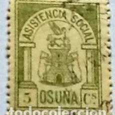 Sellos: ASISTENCIA SOCIAL OSUNA, USADO.. Lote 148972902