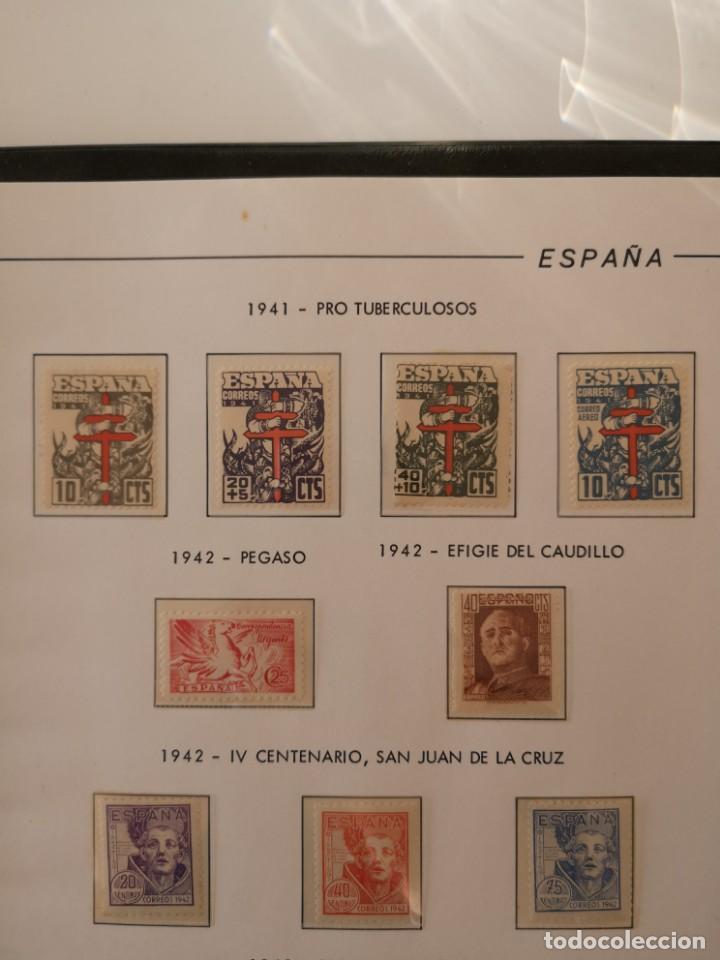ESPAÑA EDIFIL 948 / 951 952 953 Y 954 / 956 NUEVOS SIN FIJASELLOS LUJO (Sellos - España - Guerra Civil - De 1.936 a 1.939 - Nuevos)