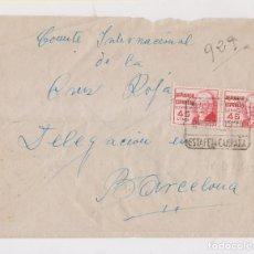 Selos: SOBRE. ESTAFETA DE CAMPAÑA. XIX DIVISIÓN. LAS VILLAS DE JAÉN. AÑO 1938. GUERRA CIVIL. Lote 150031146