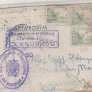 Sellos: CENSURA GUBERNATIVA DE COMUNICACIONES. DELEGACIÓN GENERAL DE SEGURIDAD CENSURADO SIN CATALOGAR. Lote 150233082