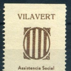 Sellos: ESPAÑA. GUERRA CIVIL. SELLO LOCAL REPUBLICANO DE VILAVERT. EDIFIL Nº3. Lote 151212806