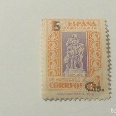 Sellos: SELLO HUÉRFANOS DE CORREOS. 1 PESETA. SOBRECARGADO 5 CENTIMOS. . Lote 151475242