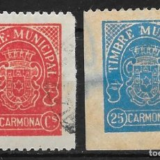Sellos: CARMONA (SEVILLA) EDIFIL NUM. 5-82. Lote 151705586