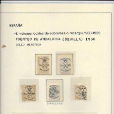 Sellos: PROVINCIA DE SEVILLA. RESTO DE COLECCIÓN. Lote 151824646