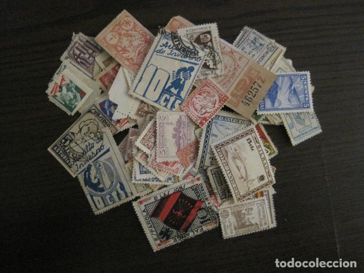Sellos: GUERRA CIVIL-LOTE DE MAS 100 VIÑETAS GUERRA CIVIL-VER FOTOS-(V-15.950) - Foto 2 - 151870206