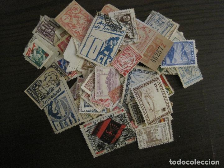Sellos: GUERRA CIVIL-LOTE DE MAS 100 VIÑETAS GUERRA CIVIL-VER FOTOS-(V-15.950) - Foto 3 - 151870206