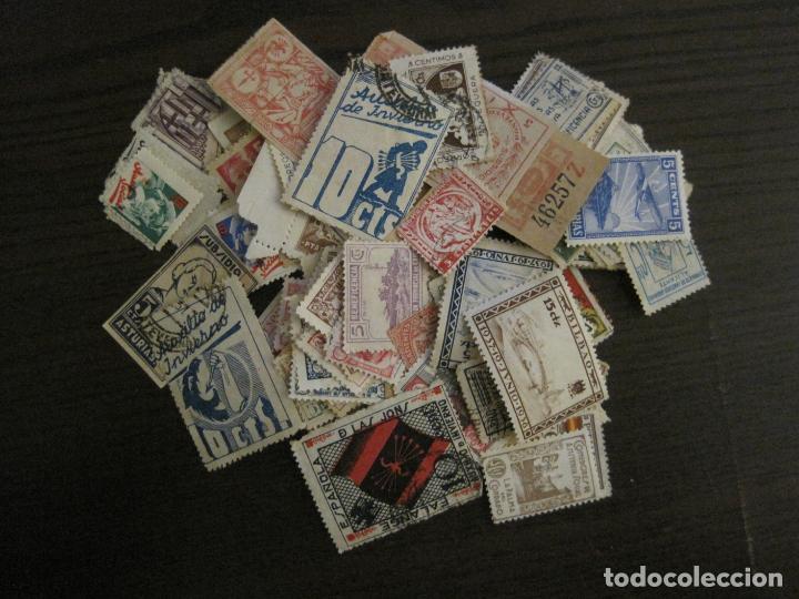 Sellos: GUERRA CIVIL-LOTE DE MAS 100 VIÑETAS GUERRA CIVIL-VER FOTOS-(V-15.950) - Foto 4 - 151870206