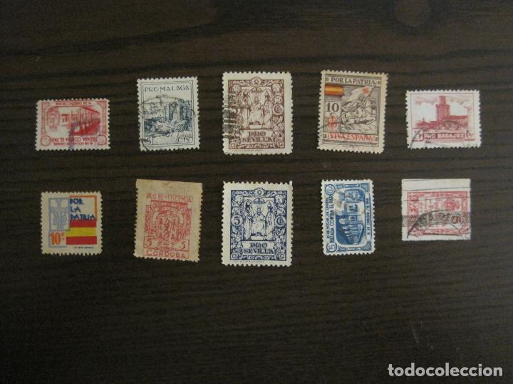 Sellos: GUERRA CIVIL-LOTE DE MAS 100 VIÑETAS GUERRA CIVIL-VER FOTOS-(V-15.950) - Foto 8 - 151870206