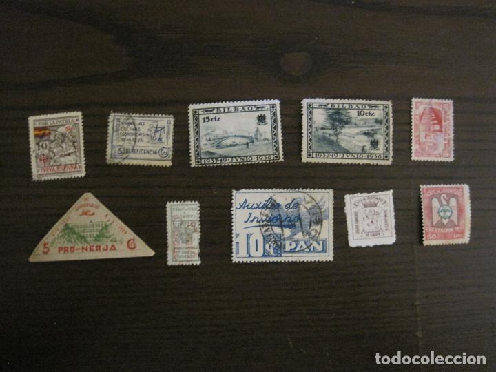 Sellos: GUERRA CIVIL-LOTE DE MAS 100 VIÑETAS GUERRA CIVIL-VER FOTOS-(V-15.950) - Foto 11 - 151870206