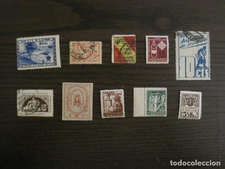 Sellos: GUERRA CIVIL-LOTE DE MAS 100 VIÑETAS GUERRA CIVIL-VER FOTOS-(V-15.950) - Foto 12 - 151870206