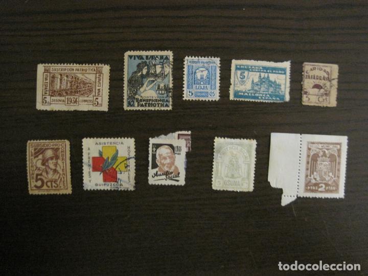 Sellos: GUERRA CIVIL-LOTE DE MAS 100 VIÑETAS GUERRA CIVIL-VER FOTOS-(V-15.950) - Foto 16 - 151870206
