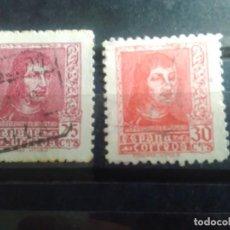 Sellos: EDIFIL 843 Y 844 DE LA SERIE: FERNANDO EL CATÓLICO, AÑO 1938. Lote 151924978