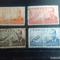 Francobolli: EDIFIL 880,881, 883, Y 884 DE LA SERIE: JUAN DE LA CIERVA, AÑO 1939-41. Lote 151934598