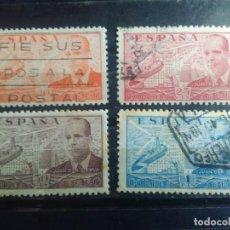Francobolli: EDIFIL 880,881, 883 Y 884 DE LA SERIE: JUAN DE LA CIERVA, AÑO 1939-41. Lote 151934946