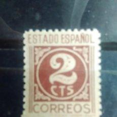 Sellos: EDIFIL 815 DE LA SERIE: CIFRAS. CID E ISABEL, AÑO 1937-40. Lote 151941918