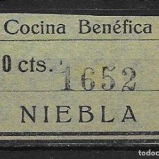 Sellos: NIEBLA (HUELVA). EDIFIL NUM. 6*. Lote 152531122