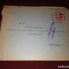 Sellos: CENSURA MILITAR DE VALLADOLID. Lote 152581962