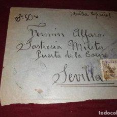 Sellos: CENSURA MILITAR DE SEVILLA. Lote 152581998