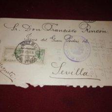 Sellos: JEREZ DE LA FRONTERA. CENSURA MILITAR. Lote 152582722