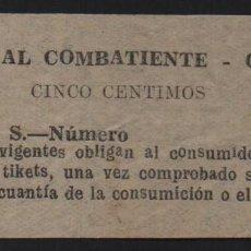 Sellos: GRANADA, 5 CTS,. SUBSIDIO AL COMBATIENTE-TIPO II, VER FOTO. Lote 152740378