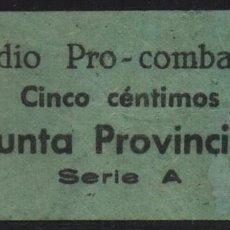 Sellos: GRANADA, 5 CTS,. SUBSIDIO AL COMBATIENTE-, VER FOTO. Lote 152740818