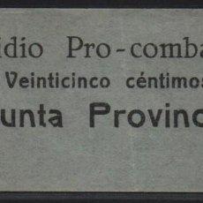 Sellos: GRANADA, 25 CTS,. SUBSIDIO AL COMBATIENTE-, VER FOTO. Lote 152740886