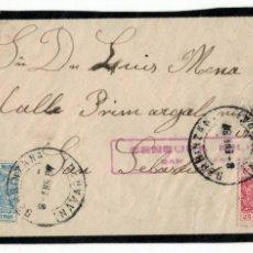 Sellos: BERBINZANA A SAN SEBASTIAN ESPECIAL MOVIL 1937 NAVARRA NAFARROA. Lote 152782414