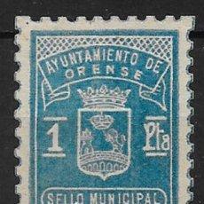 Francobolli: ORENSE. EDIFIL NO CATALOGADO.. Lote 153073386