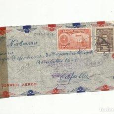 Timbres: CIRCULADA 1945 DE CARACAS VENEZUELA A TAFALLA NAVARRA CON CENSURA GUBERNATIVA. Lote 154369946