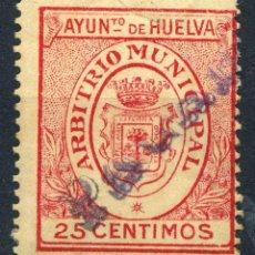 Briefmarken - ESPAÑA. GUERRA CIVIL. HUELVA. MUN. 25cts ROJO - 154782278