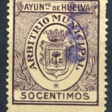 Briefmarken - ESPAÑA. GUERRA CIVIL. HUELVA. MUN. 50cts - 154783262