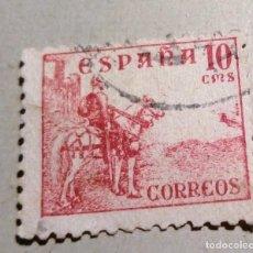 Sellos: SELLO DE ESPAÑA 1937-1940 Nº 818, 10 C - EL CID. Lote 155477422