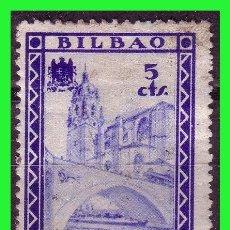 Sellos: VIZCAYA BILBAO, GUERRA CIVIL, FESOFI Nº 24 (*). Lote 155516502