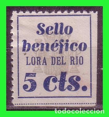 SEVILLA LORA DEL RIO, GUERRA CIVIL, FESOFI Nº 1 * (Sellos - España - Guerra Civil - Locales - Nuevos)