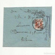 Sellos: CIRCULADA 1938 DE ZAMORA A VITORIA CON CENSURA MILITAR. Lote 155778966
