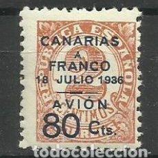 Sellos: CANARIAS A FRANCO 1936 NUEVO. Lote 155932862