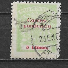 Sellos: ESPAÑA - GUERRA CIVIL - CADIZ - 3/9. Lote 156584870