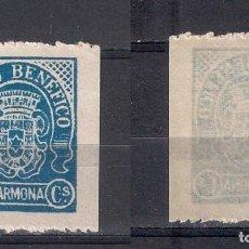 Sellos: ESPAÑA GUERRA CIVIL CARMONA ** NUEVO - 3/9. Lote 156587474