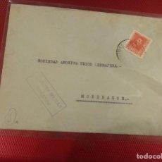 Sellos: SOBRE SOCIEDAD ANÓNIMA UNIÓN CERRAJERA. CENSURA MILITAR BEASAIN. GUIPUZCOA. . Lote 156608918